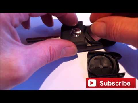How To Change The Battery On Vauxhall Opel Flip Key fob, New Battery Replacement