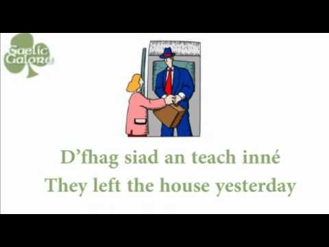 Learn Irish - Gaelic Galore Lesson 8 - Tenses