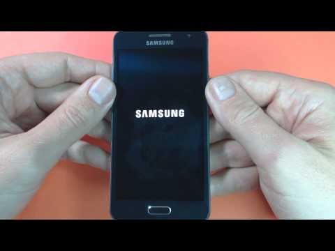 Samsung Galaxy A3 A300F- How to remove pattern lock by hard reset