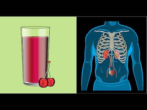 Drink A Glass Of Tart Cherry Juice For This Incredible Effect On Your Kidneys