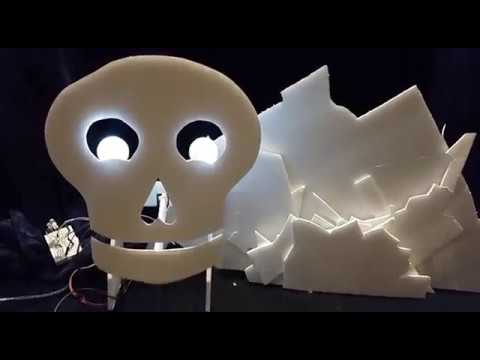 Halloween Animatronics using Vixen 3 and Arduino