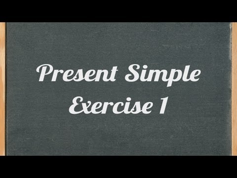 Present Simple exercise - English grammar exercise