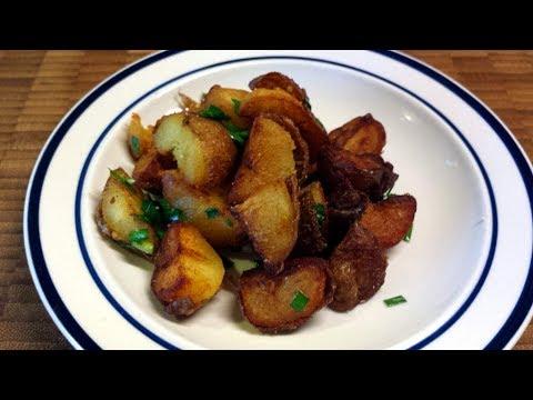 Duck Fat Fried Crispy Potatoes Recipe