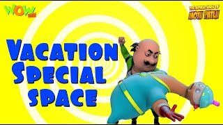 Motu Patlu Vacation Special | Space - Compilation | As seen on Nickelodeon