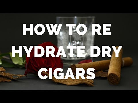 How to Rehydrate Dry Cigars