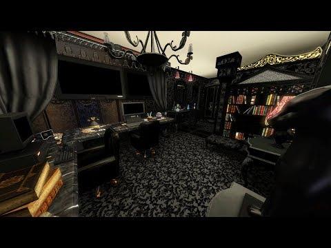 The Sims 3 LIVE! Building a Bunker House - Part 14 - Gothic Ensuite