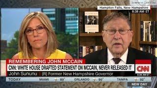 Former governor wrecks CNN, host goes nuts