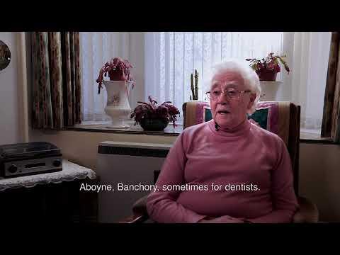 Age Scotland 2018 Volunteer of the Year Award winner - Gladys Cruickshank