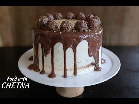 Delicious Ferrero Rocher Chocolate cake!