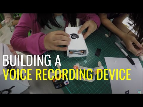 How to Build an Electric Circuit (Voice Recording Device)