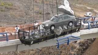 Fast and furious 6 shooting in Tenerife bridge scene 09/24/12