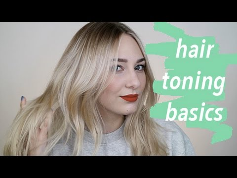 TONING HAIR for BEGINNERS
