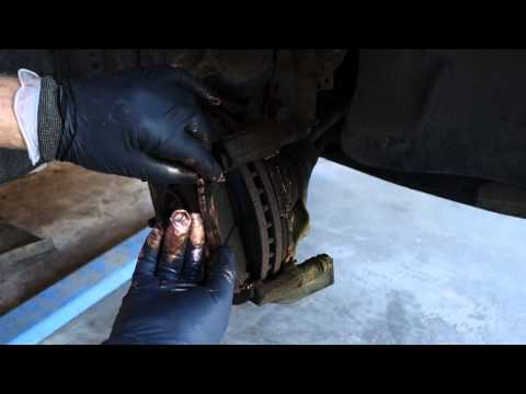 How to replace brake pads Toyota Camry. Years 1992 to 2006