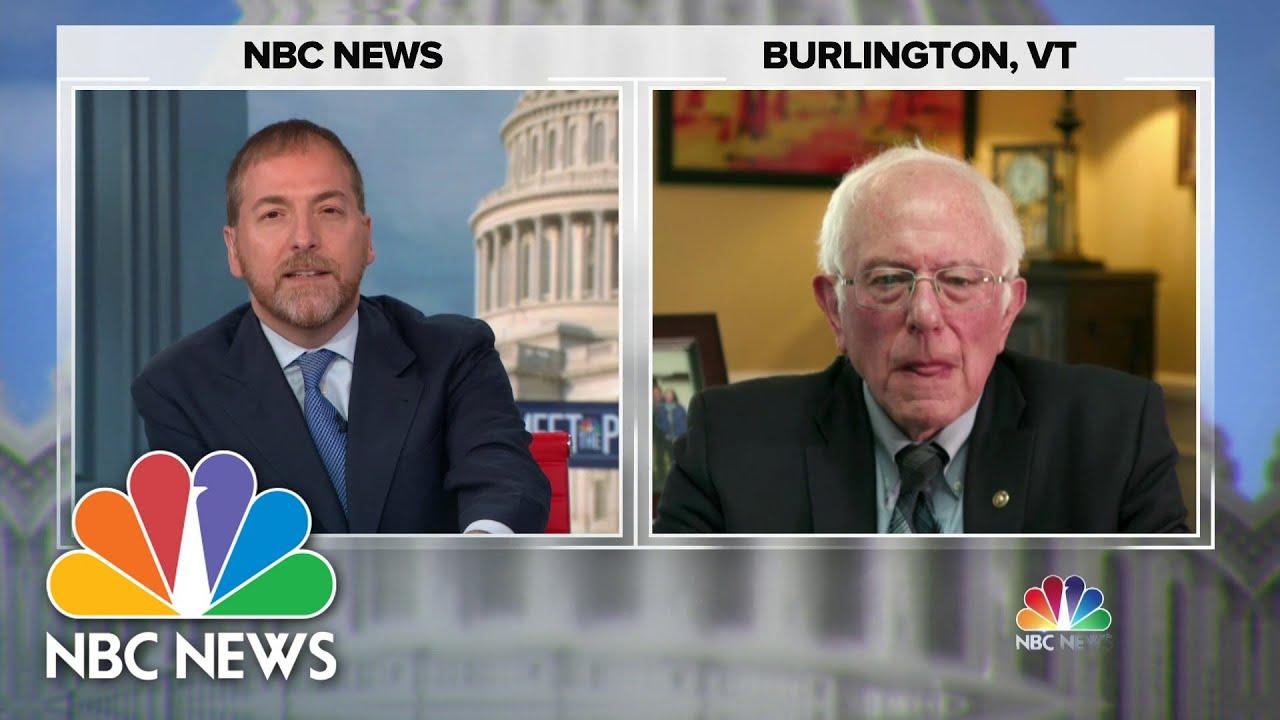 Full Bernie Sanders Interview: 'We Need Progressive Taxation' | Meet The Press | NBC News