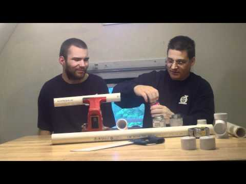 How To Prime & Cement SCH 40 PVC Plumbing Pipe