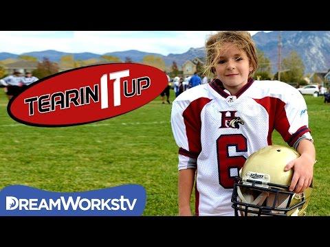 Amazing 13-Year-Old Girl Football Player Sam Gordon | TEARIN' IT UP