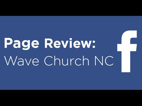 Facebook Page Review: Wave Church NC