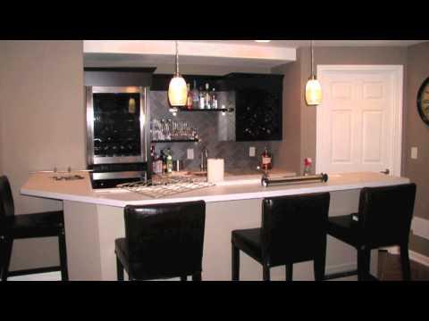 St. Louis Finished Basements Wet Bar Design