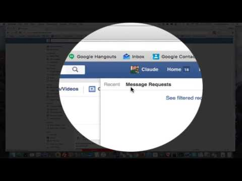 How To Find Filtered Messages In Facebook
