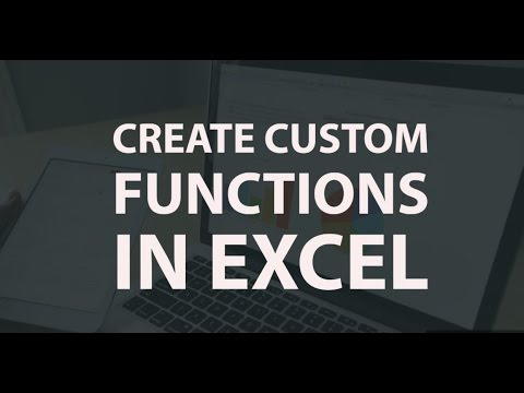 Create Custom Formulas and Functions in Excel
