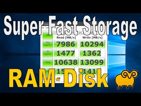 How To Create a RamDisk - Super Fast Storage (SoftPerfect)