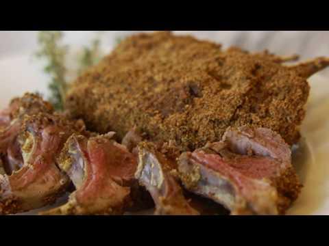 Mustard-Crusted Lamb