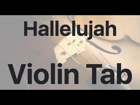 Learn Hallelujah on Violin - How to Play Tutorial