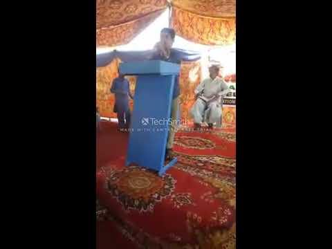 Speech by Madan Kumar on Importance of Education in Sindhi