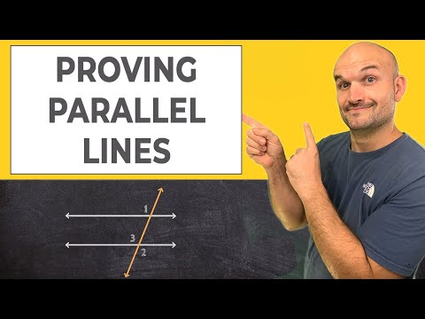 How To Write a Proof - Proving Parallel Lines