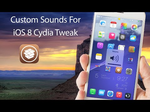 Custom Sounds for iOS 8 With SpringSounds