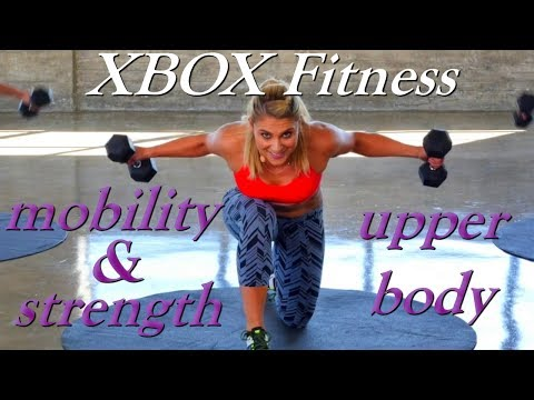 Xbox Fitness with Anja Garcia - Mobility & Strength 02 - Upper Body