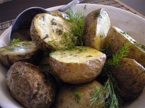 Dill Roasted Potatoes Recipe