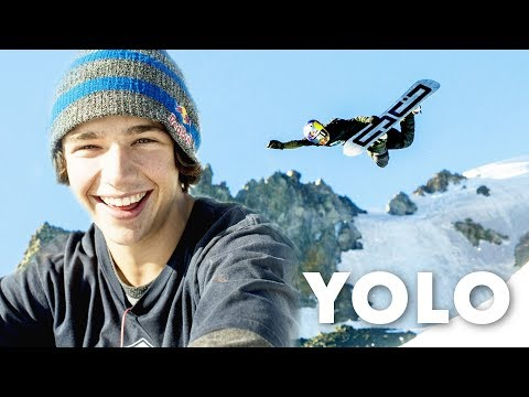 The third ever YOLO flip /w Toby Miller.