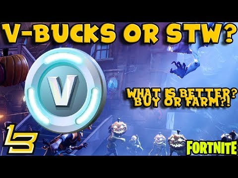Buy V-Bucks?! Or Save The World? (Fortnite)