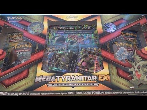 Pokemon Mega Tyranitar EX Premium Collection Opening