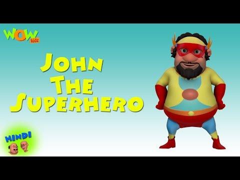 John The Superhero Motu Patlu In Hindi With English Spani