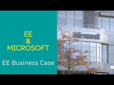 EE Business Case: Microsoft & EE - Creating a mobile working culture.