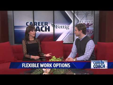 Career Coach on Fox 17 - Flexible Work Options