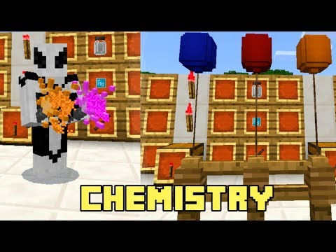 New Minecraft Bedrock Edition Beta: Chemistry Lab !!! / Education Editon