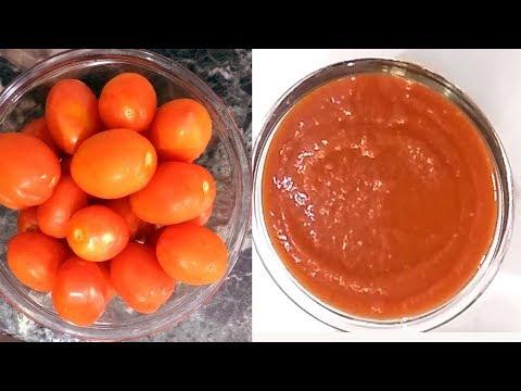 Tomato Sauce | Homemade Tomato Sauce | Easy Method Tomato Ketchup