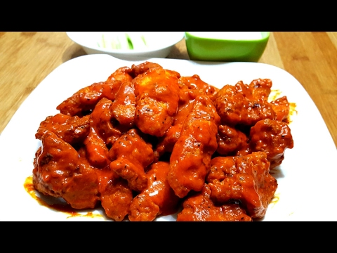 Boneless Buffalo Wings  Chicken - How To Make Buffalo Wings Chicken -Restaurant style -Easy & Quick