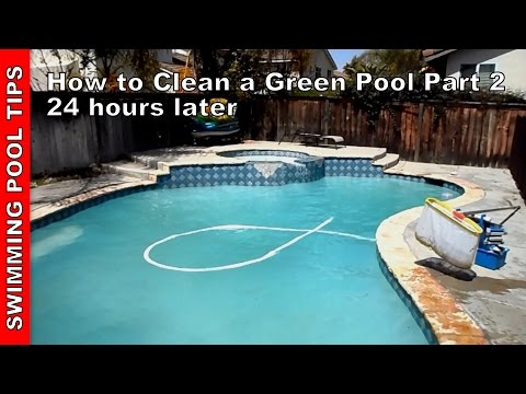 How to Clean a Green Pool Part 2 of 2