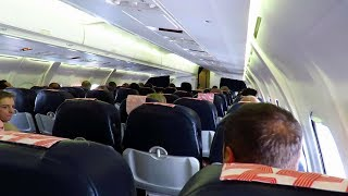 "HARD TURBULENCE! ""Cabin Crew Take Your Seats Please!"" | Cityjet Avro RJ85 Landing at Turin Airport!"