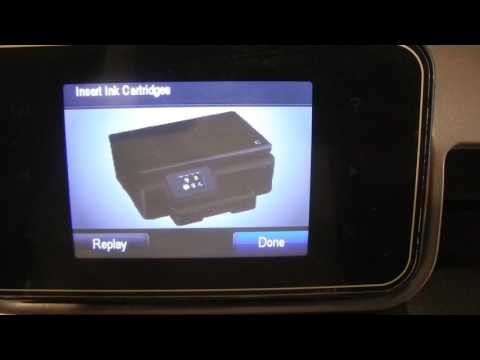 How to Replace Ink Cartridges in the HP Photosmart 6510