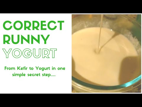 The cure for DIY runny coconut yogurt