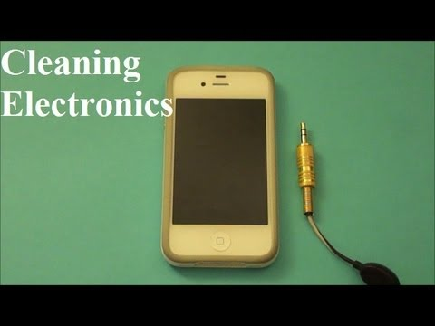 How to Clean Electronics (iPhone, computers, MP3 players, etc)