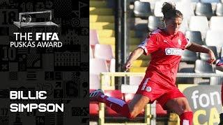 FIFA PUSKAS AWARD 2019 NOMINEE: Billie Simpson