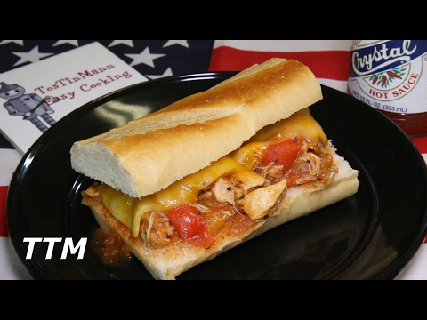Chicken with Peppers and Onions~Slow Cooker Recipe~Chicken Sandwich Recipe