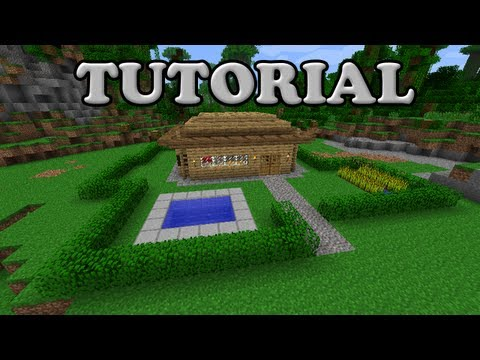 Minecraft Tutorial - Nice and easy house