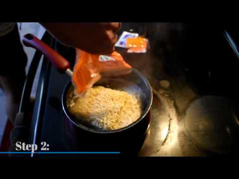 HOW TO MAKE KUNGFU NOODLES!